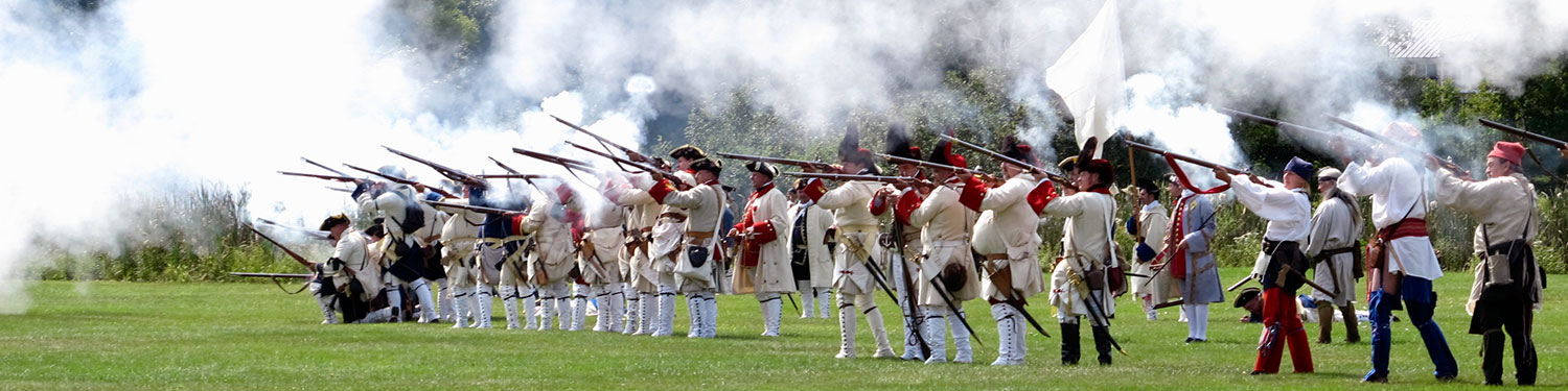 French Siege of Fort William Henry reenactment in Lake George