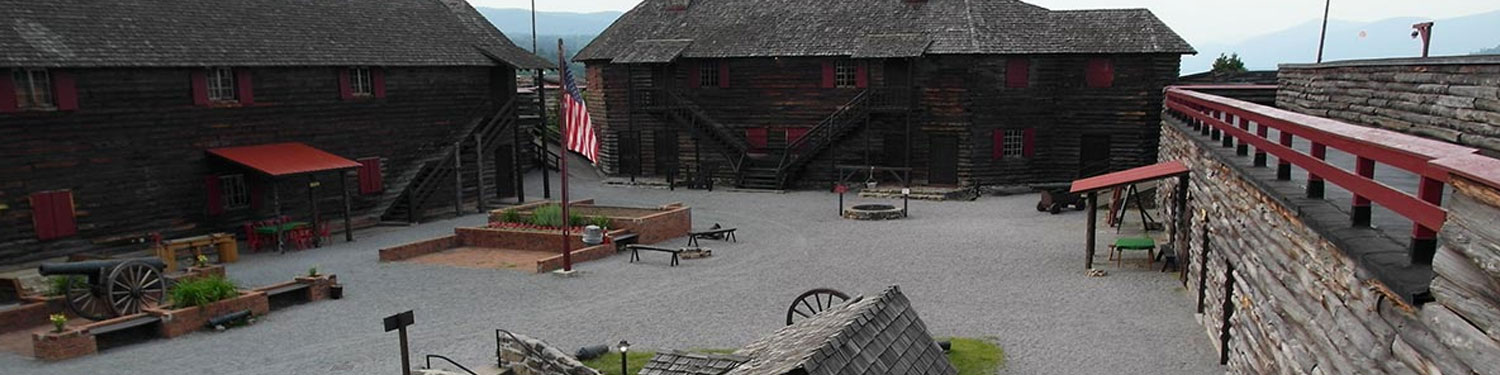 Fort William Henry Museum Courtyard